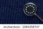 looking at european union gdpr... | Shutterstock . vector #1084358747