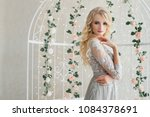 beautiful young female in... | Shutterstock . vector #1084378691