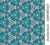 hexagonal symmetry vector... | Shutterstock .eps vector #1084385327