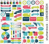 infographics design template... | Shutterstock .eps vector #1084385834
