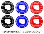 poland   rubber stamp   vector  ... | Shutterstock .eps vector #1084400147