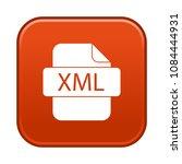 web xml file | Shutterstock .eps vector #1084444931