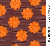 seamless pattern with flowers | Shutterstock .eps vector #1084449839