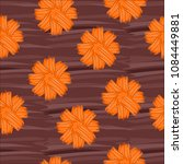 seamless pattern with flowers | Shutterstock . vector #1084449881