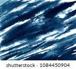 indigo abstract grunge... | Shutterstock . vector #1084450904