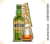 vector illustration of alcohol... | Shutterstock .eps vector #1084500584