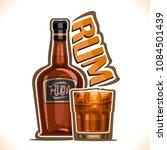 vector illustration of alcohol... | Shutterstock .eps vector #1084501439