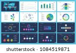 business infographic design set ... | Shutterstock .eps vector #1084519871