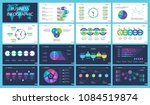 business inforgraphic design... | Shutterstock .eps vector #1084519874
