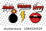pop art comic | Shutterstock .eps vector #1084534529