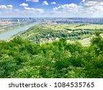 donau canal  danube  viewed...   Shutterstock . vector #1084535765