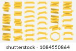 vector ribbon banners isolated... | Shutterstock .eps vector #1084550864