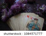photo cards for fortune telling ... | Shutterstock . vector #1084571777
