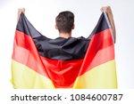 german soccer or football... | Shutterstock . vector #1084600787
