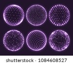 Geometry Grid 3d Sphere With...