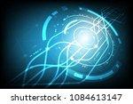 vector technology communication ... | Shutterstock .eps vector #1084613147
