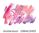 watercolor colorful background... | Shutterstock . vector #1084613405