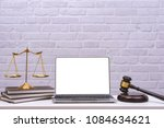 Workspace For Lawyer With...