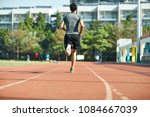young asian man male athlete... | Shutterstock . vector #1084667039