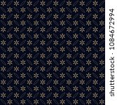 simple geometric floral motif....   Shutterstock . vector #1084672994