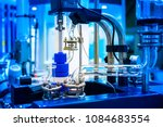chemical industry. equipment...   Shutterstock . vector #1084683554
