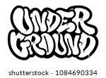 decorative inscription ... | Shutterstock .eps vector #1084690334