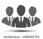 teamwork icon  staff ... | Shutterstock .eps vector #1084692701