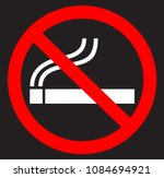 no smoking flat icon | Shutterstock .eps vector #1084694921
