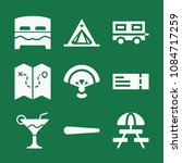 filled set of 9 holidays icons...   Shutterstock .eps vector #1084717259
