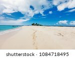 crystal clear water and white...   Shutterstock . vector #1084718495