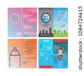 brochure template layout  flyer | Shutterstock .eps vector #1084724615