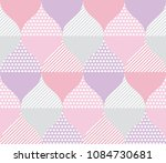 pale color geometry pattern.... | Shutterstock .eps vector #1084730681