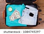summer women clothes and... | Shutterstock . vector #1084745297