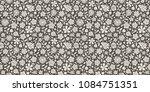 stylish floral pattern  ... | Shutterstock .eps vector #1084751351