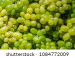 a bunch of fresh  ripe white... | Shutterstock . vector #1084772009