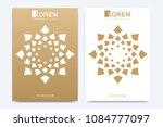 modern vector template for... | Shutterstock .eps vector #1084777097