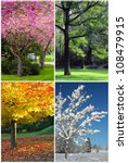 Four Seasons Collage  Spring ...