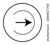 arrow right vector icon | Shutterstock .eps vector #1084827704
