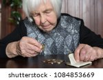 elderly 95 years old woman... | Shutterstock . vector #1084853669