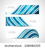 abstract header blue colorful...