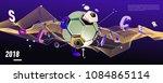 soccer and footbal digital web...   Shutterstock .eps vector #1084865114