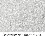 silver glitter texture white... | Shutterstock . vector #1084871231