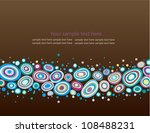 abstract vector background | Shutterstock .eps vector #108488231