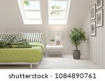 idea of white minimalist... | Shutterstock . vector #1084890761