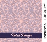 beautiful floral design. vector ...   Shutterstock .eps vector #1084903499