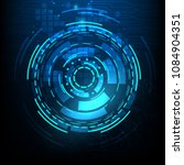 vector digital technology... | Shutterstock .eps vector #1084904351