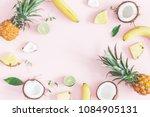 summer fruit composition....   Shutterstock . vector #1084905131