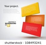 vector illustration 3d tablets... | Shutterstock .eps vector #108493241