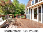 house exterior with large open... | Shutterstock . vector #108493301