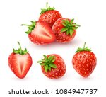 strawberry realistic icon ... | Shutterstock .eps vector #1084947737